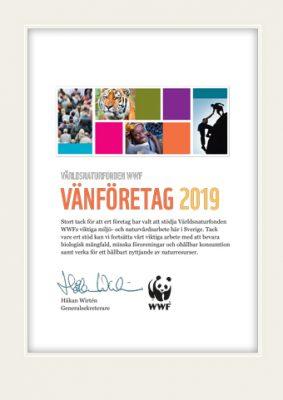 WWF Diplom